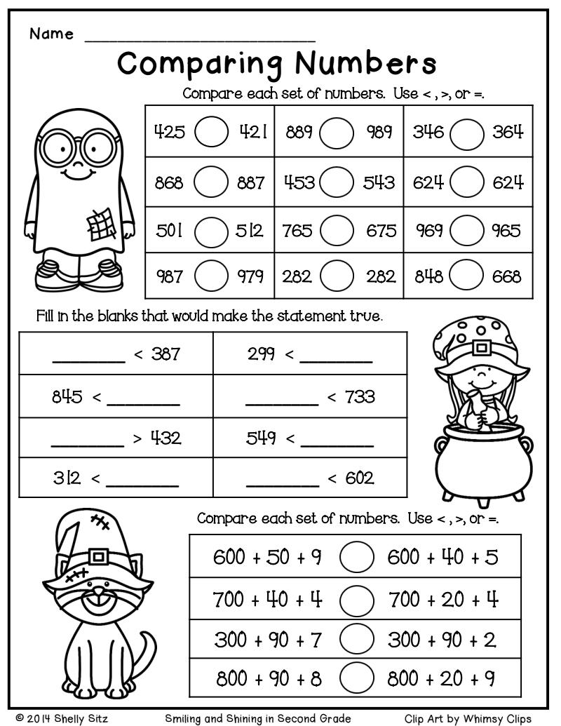 Halloween Math Freebie.pdf - Google Drive | Christmas Math