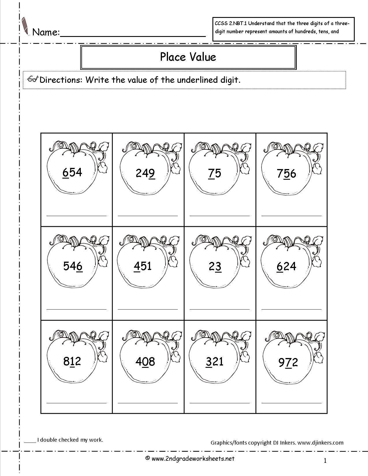 Halloween Math Worksheets For Kindergarten Division
