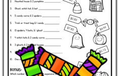 Halloween Math Fun Worksheets