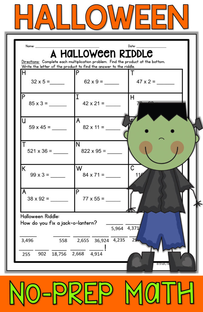 Halloween Math Worksheets   Math Worksheets, Halloween Math