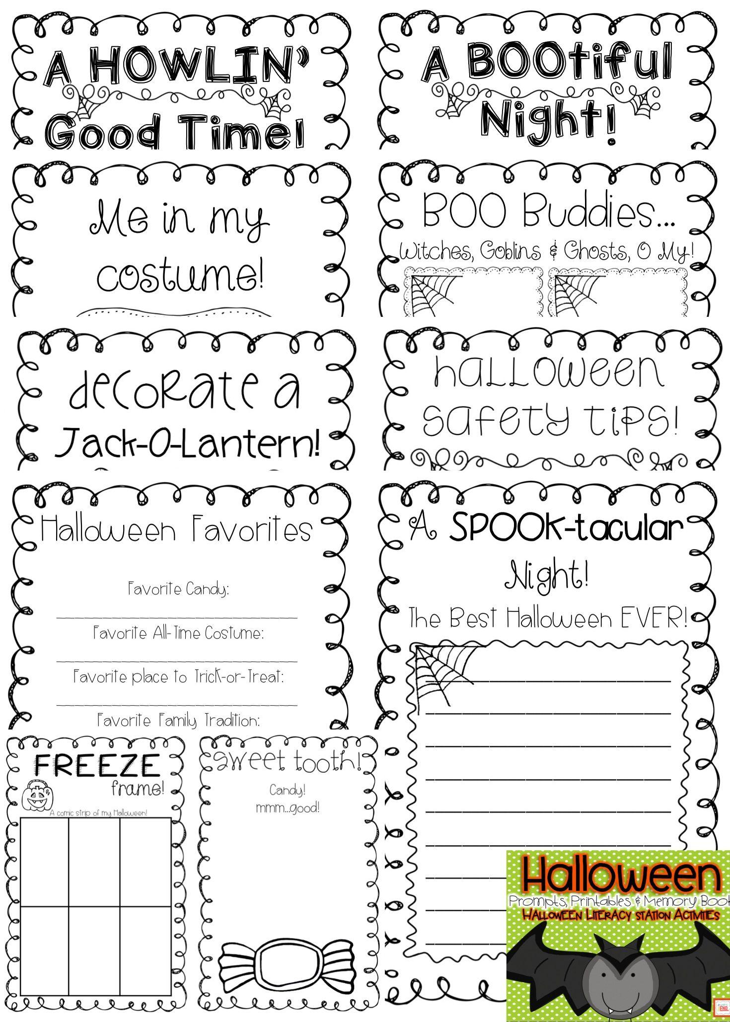 Halloween Memory Book And Printables!!   Memory Book