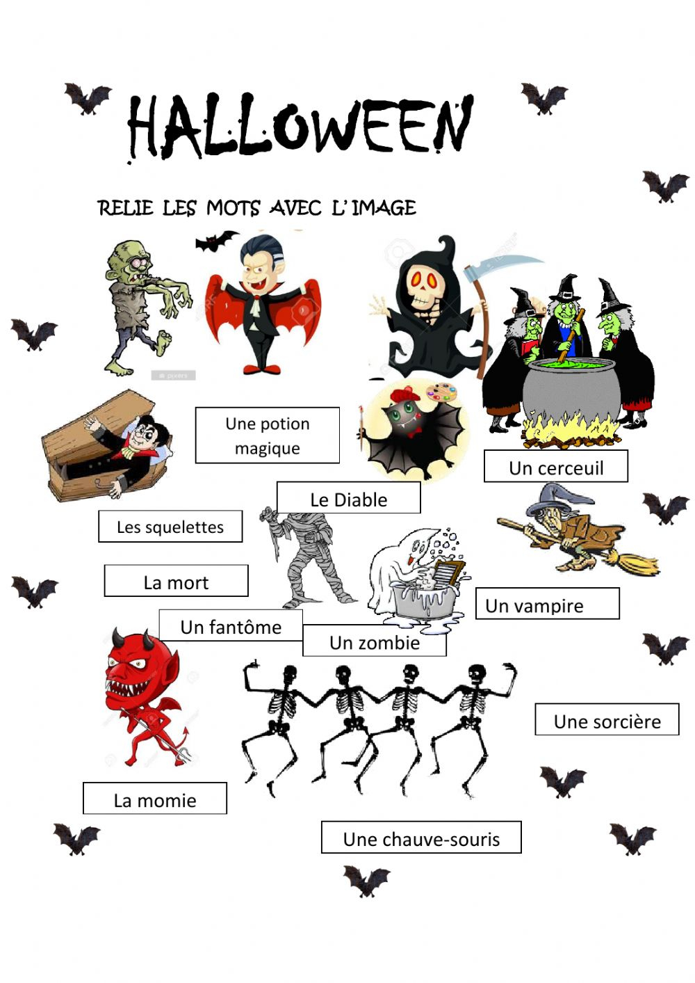 Halloween Online Exercise For 3º Primaria