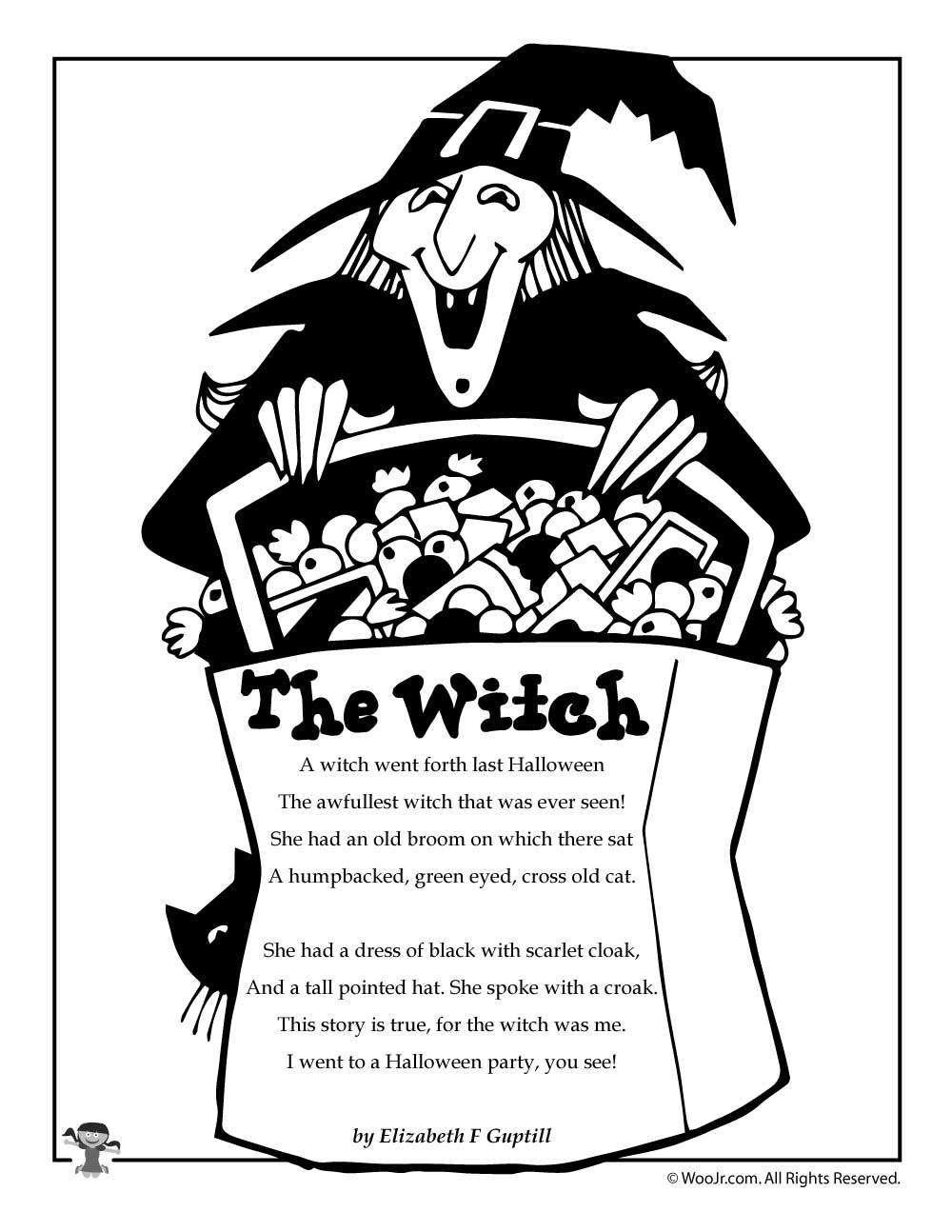 Halloween Poems For Kids   Woo! Jr. Kids Activities