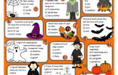 Halloween Worksheet Pinterest