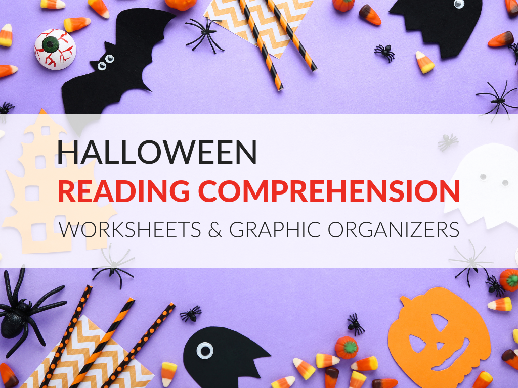 Halloween Reading Comprehension Worksheets And Graphic