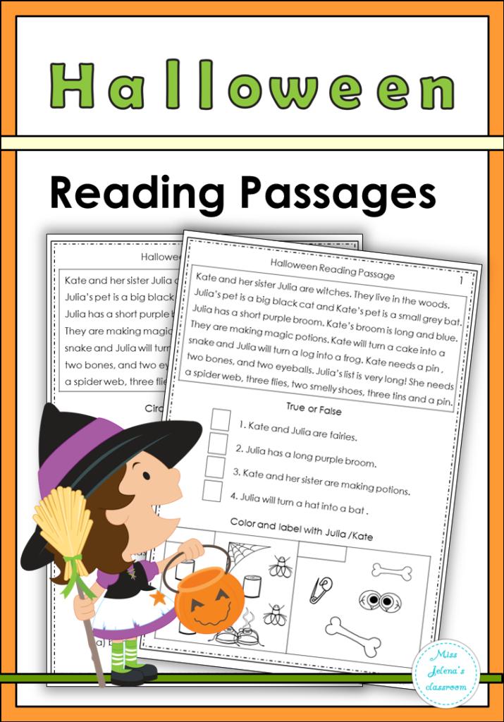 Halloween Reading Passages | Halloween Reading Passages