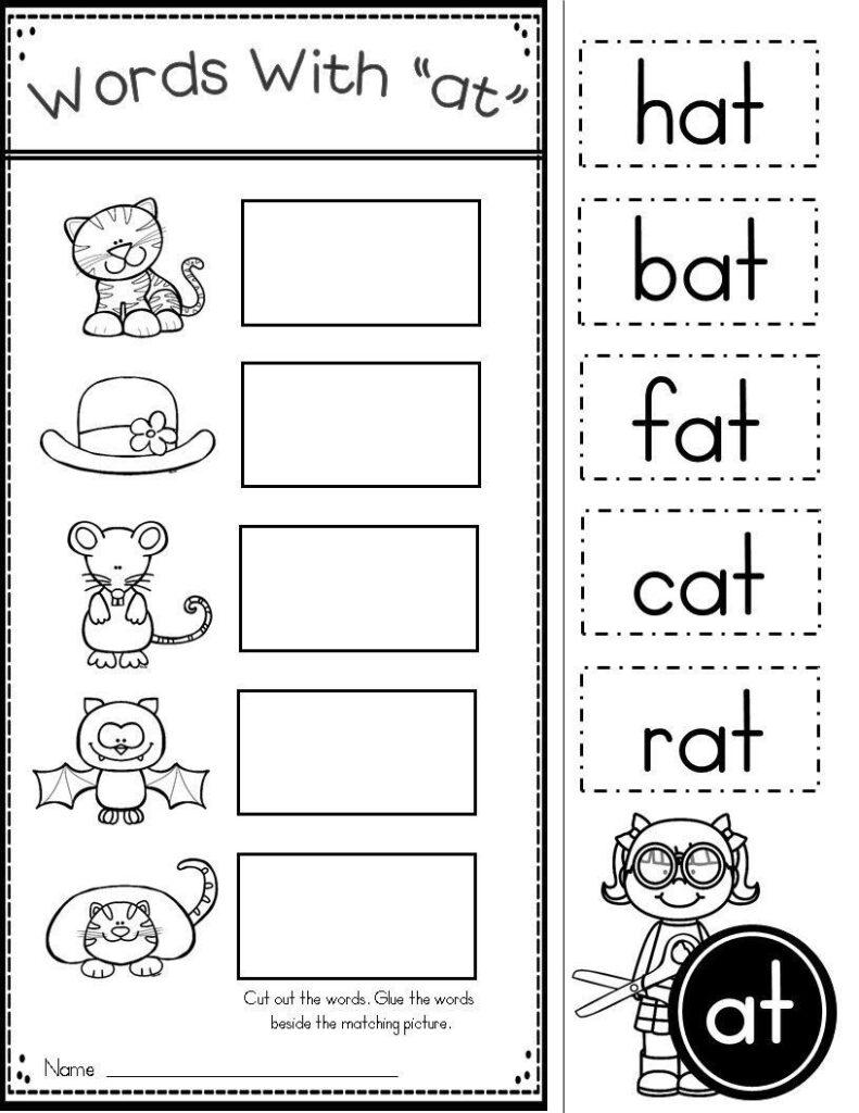 Halloween Rhyming Worksheets For Kindergarten Worksheet