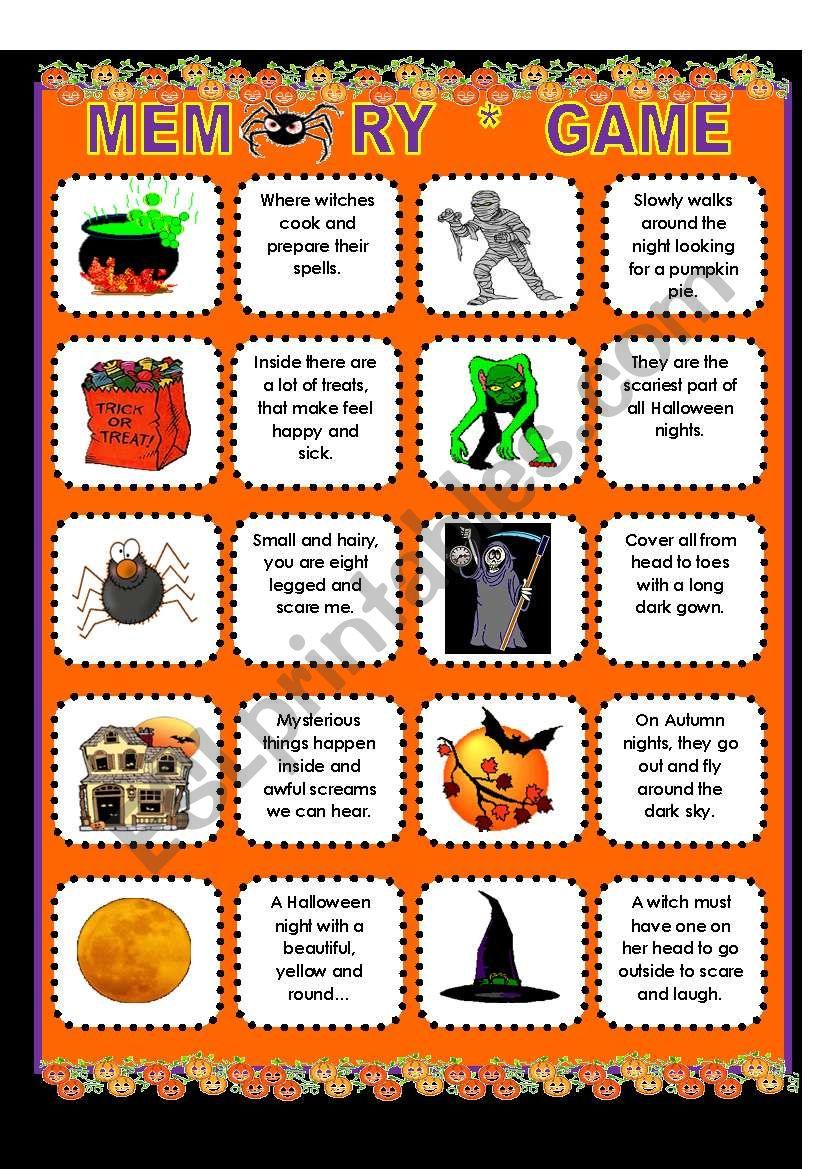 Halloween Riddles! - Esl Worksheetsupergirls