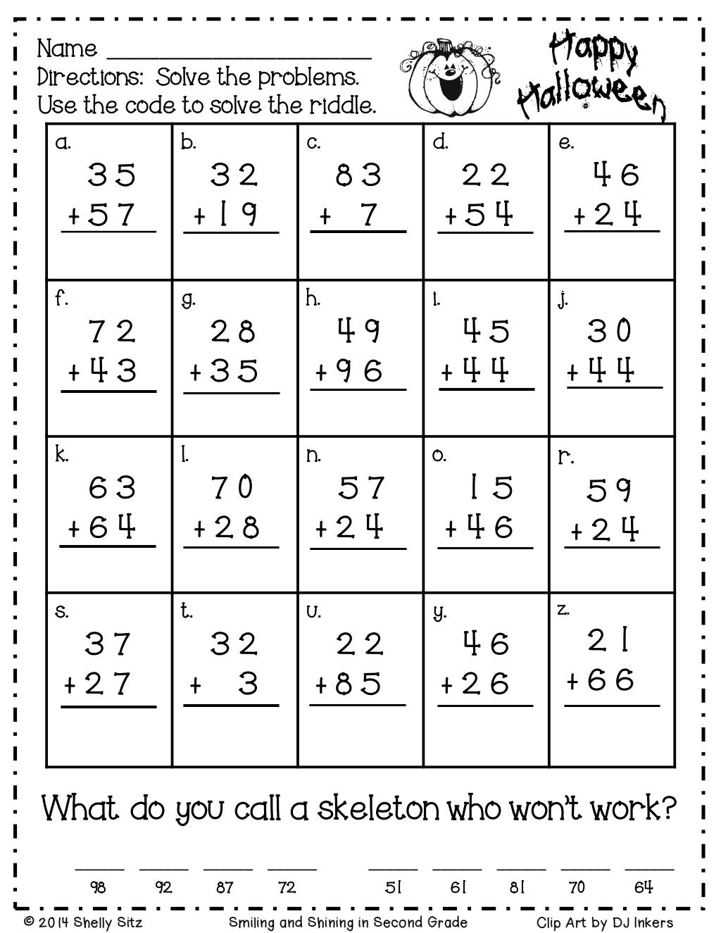 Halloween Riddles.pdf - Google Drive   Math Riddles