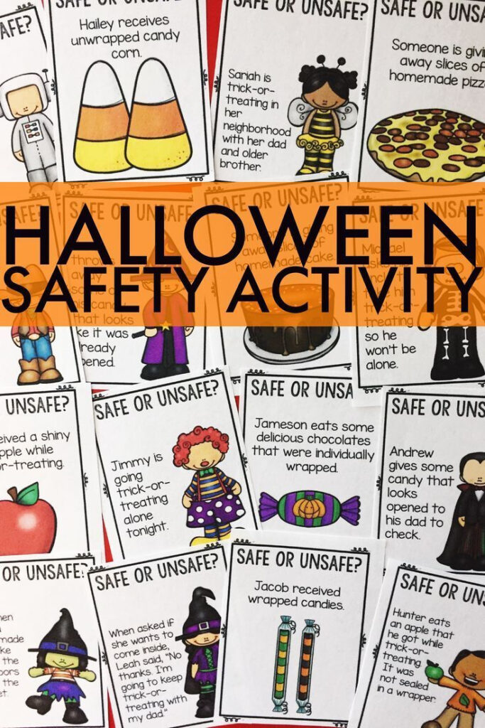 Halloween Safety Counseling Activity Classroom Guidance