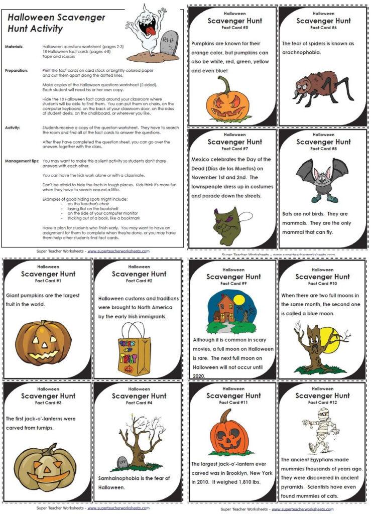 Halloween Scavenger Hunt | Halloween Scavenger Hunt