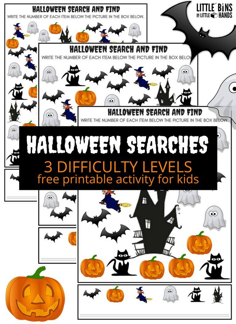 Halloween Searches Seek And Find Math Activity   Halloween