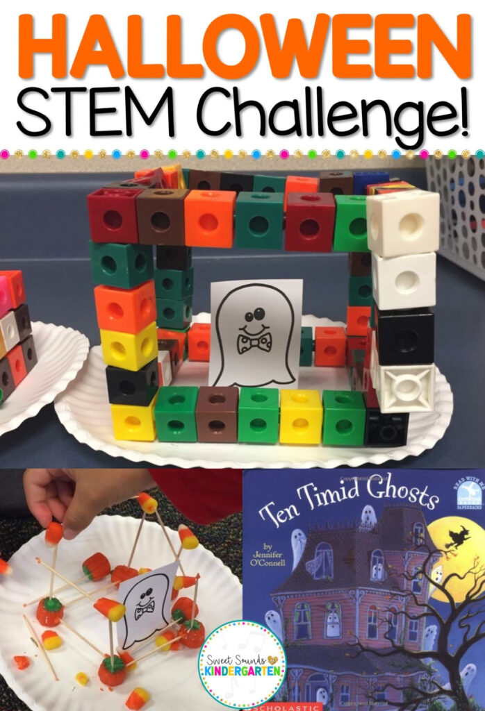 Halloween Stem Freebie! Stem Freebie Halloween Activities