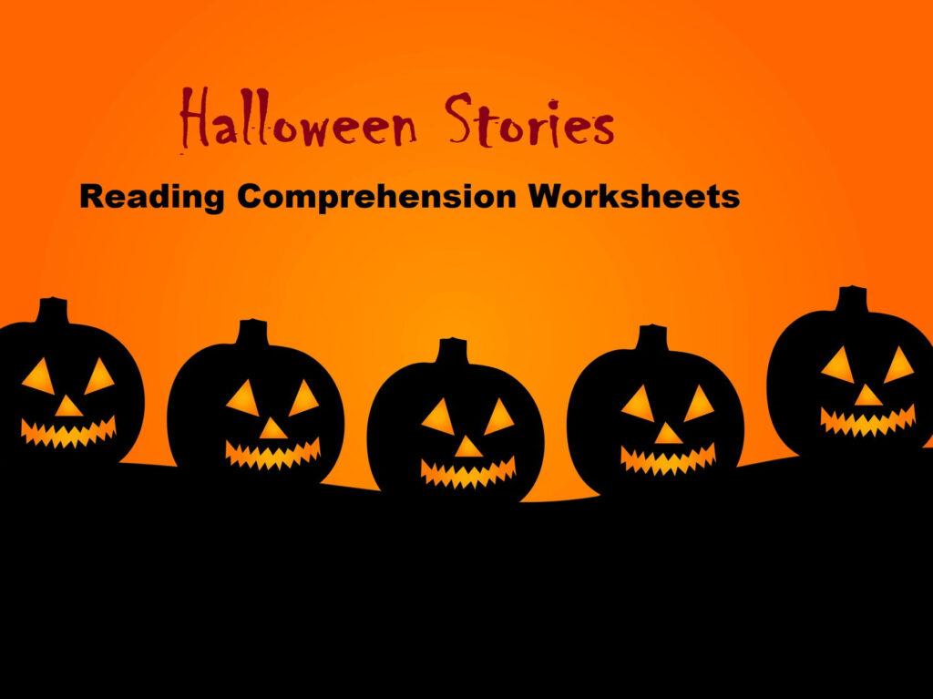 Halloween Stories   Reading Comprehension Worksheets (Save 65%)