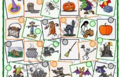 Halloween Vocabulary Worksheets Printables