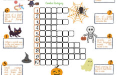 Halloween Vocabulary Interactive Worksheet For Primary