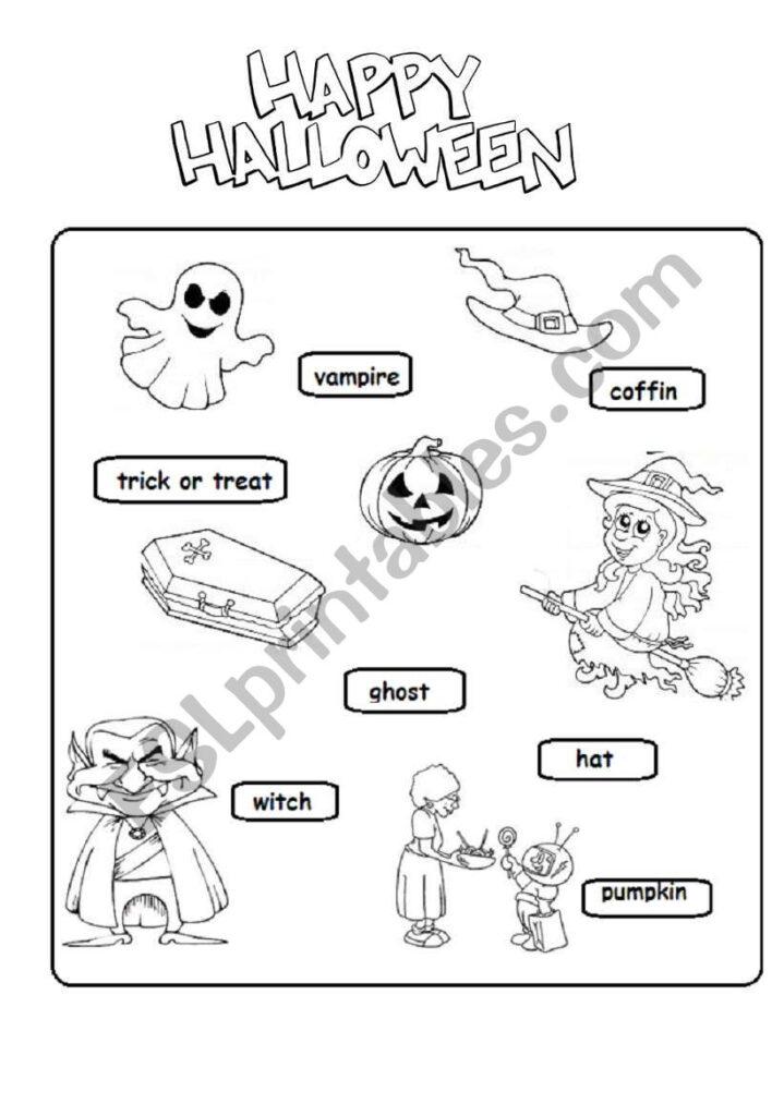 Halloween Worksheet   Esl Worksheetsubforlove