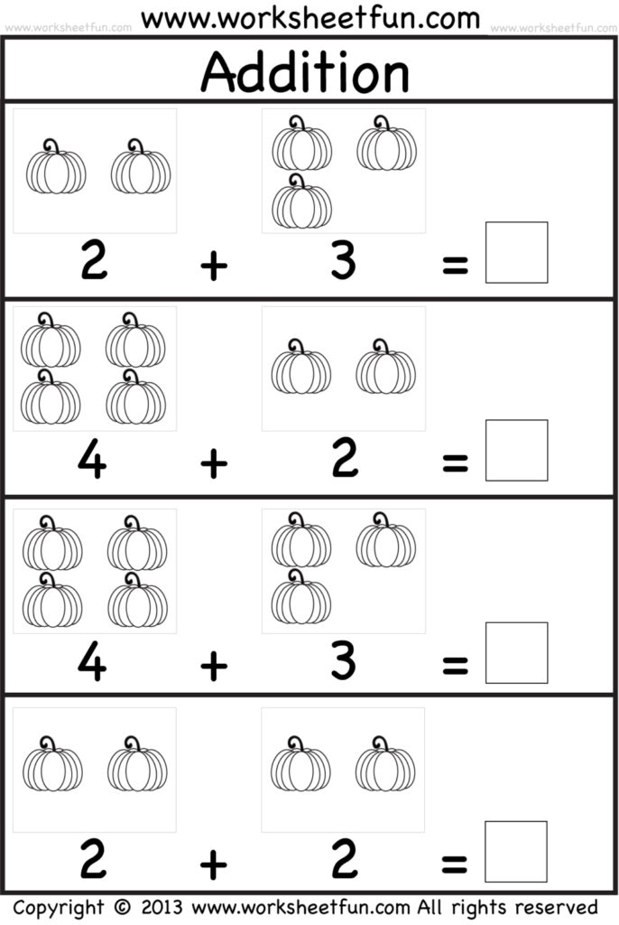 Halloween Worksheet For Kids Free Math Printables For