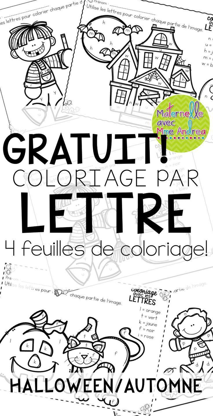 Halloween Worksheet In French | Kids Activities