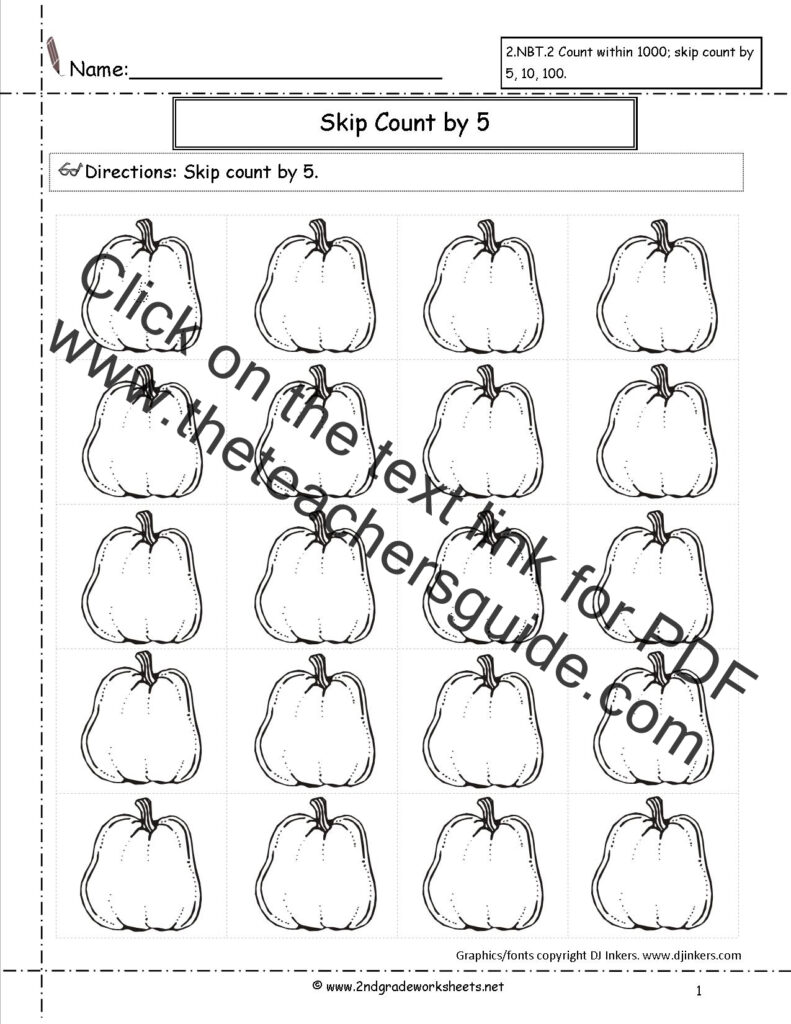 Halloween Worksheets And Printouts Counting Counting Pdf