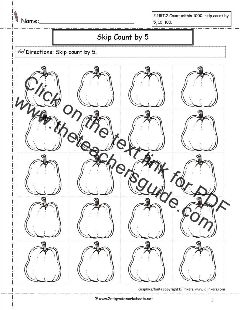 Halloween Worksheets And Printouts Numbers Numbers