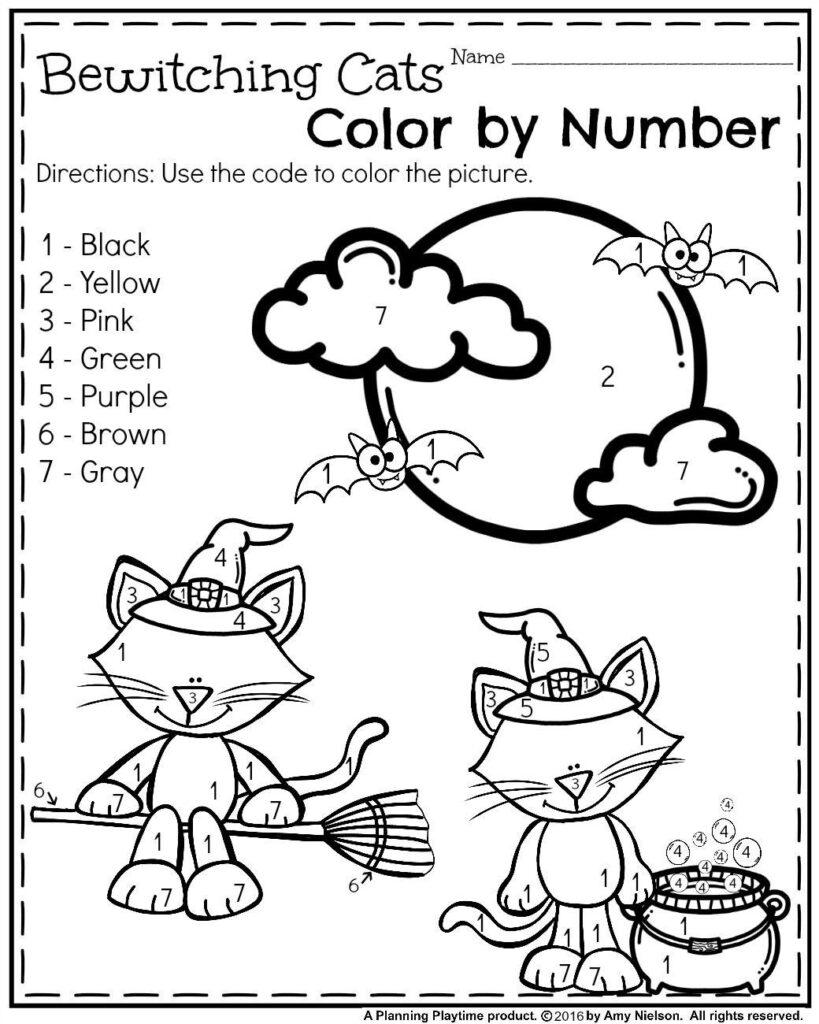 Halloween Worksheets For Kindergarten In 2020 | Halloween