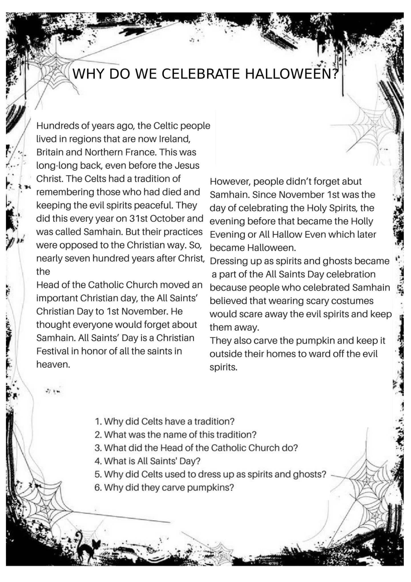 Halloween Worksheets   Halloween Worksheets, Halloween