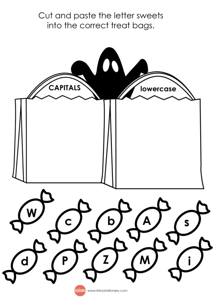 Halloween Worksheets   Rhino Stationery