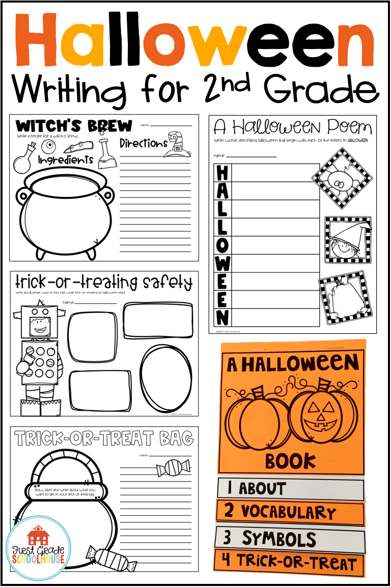 Halloween Writing For Second Grade Is Filled With Fun