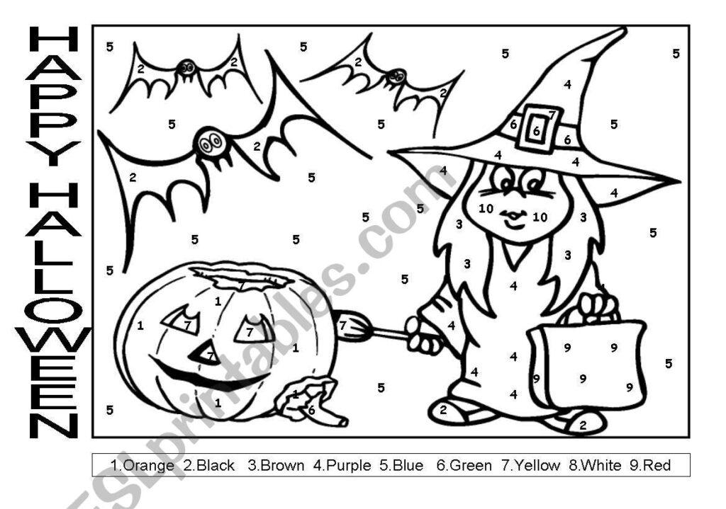 Happy Halloween   Esl Worksheetgconejerog