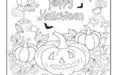Halloween Hidden Pictures Worksheets