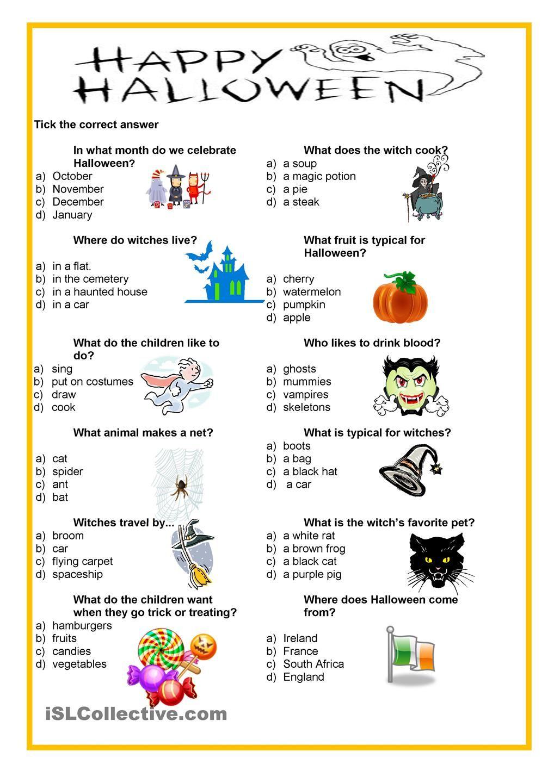 Happy Halloween - Quiz | Halloween Quiz, Fun Halloween
