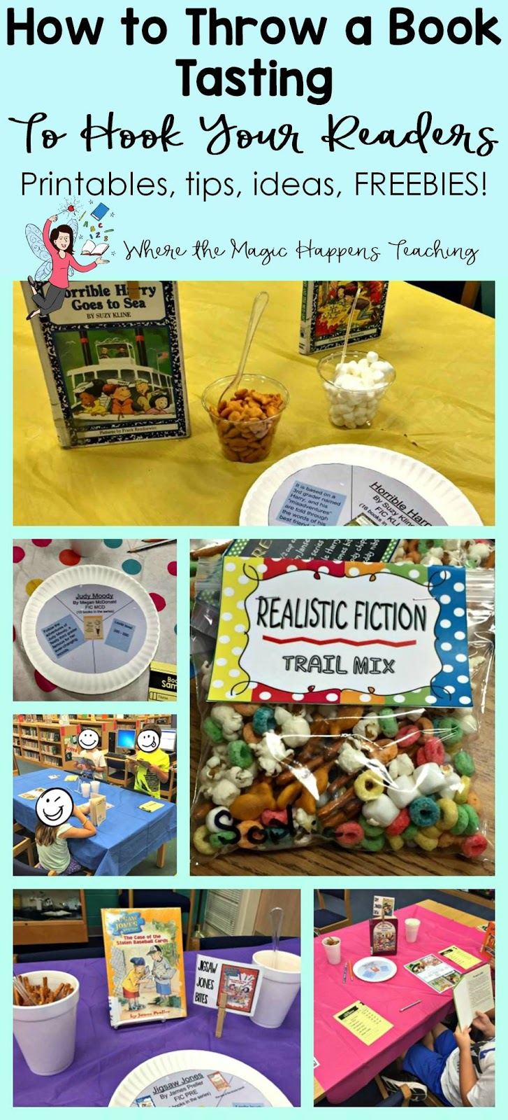 How To Throw A Book Tasting For 2Nd Graders - Where The