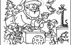 Incredible Christmas Coloring Images Free Picture Ideas
