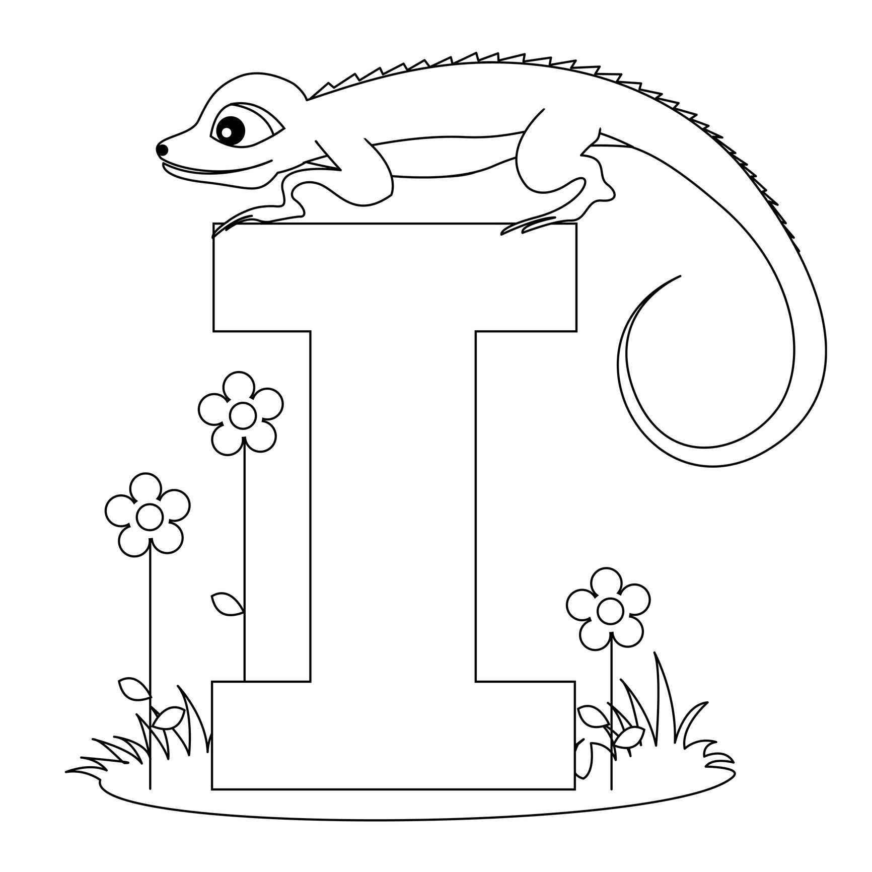 Introduce The Alphabet With These Alphabet Coloring Pages inside Alphabet Worksheets Coloring