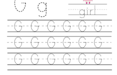 G Letter Tracing