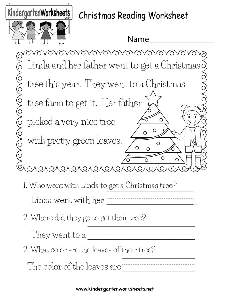 """Kindergarten Wsheets On Twitter: """"this Free Christmas-Themed"""