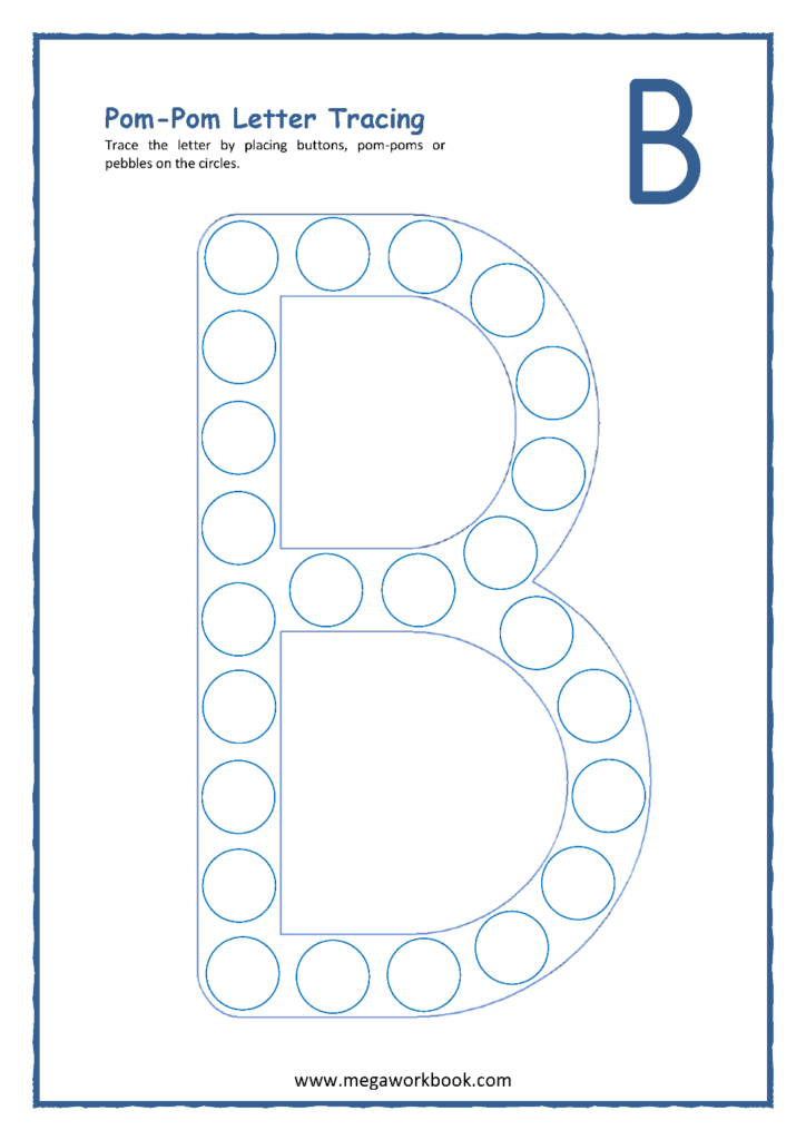 Letter B Activities   Letter B Worksheets   Letter B With Alphabet B Worksheets