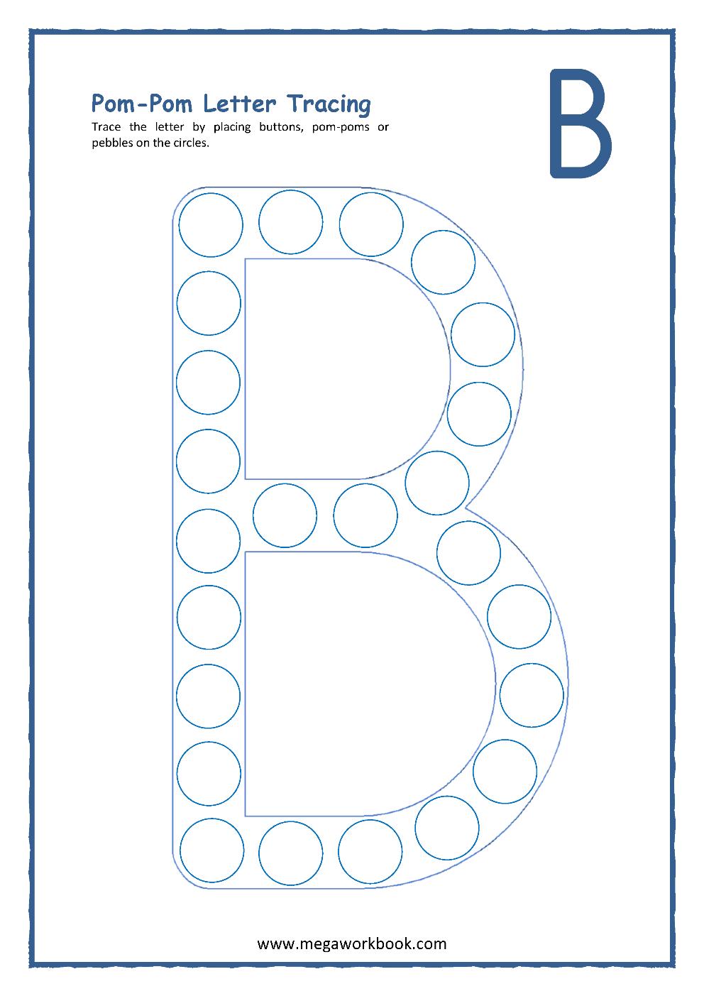 Letter B Activities - Letter B Worksheets - Letter B with Alphabet B Worksheets