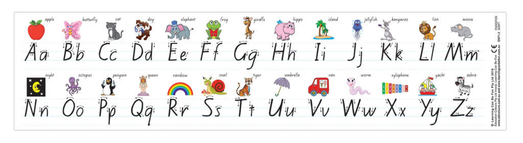 Letterland   Teaching Resources In Name Tracing Nsw Font