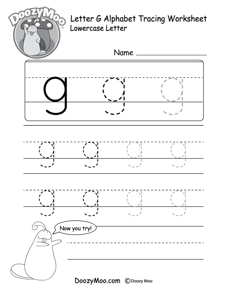 "Lowercase Letter ""f"" Tracing Worksheet   Doozy Moo Pertaining To Letter F Worksheets For Preschool Pdf"