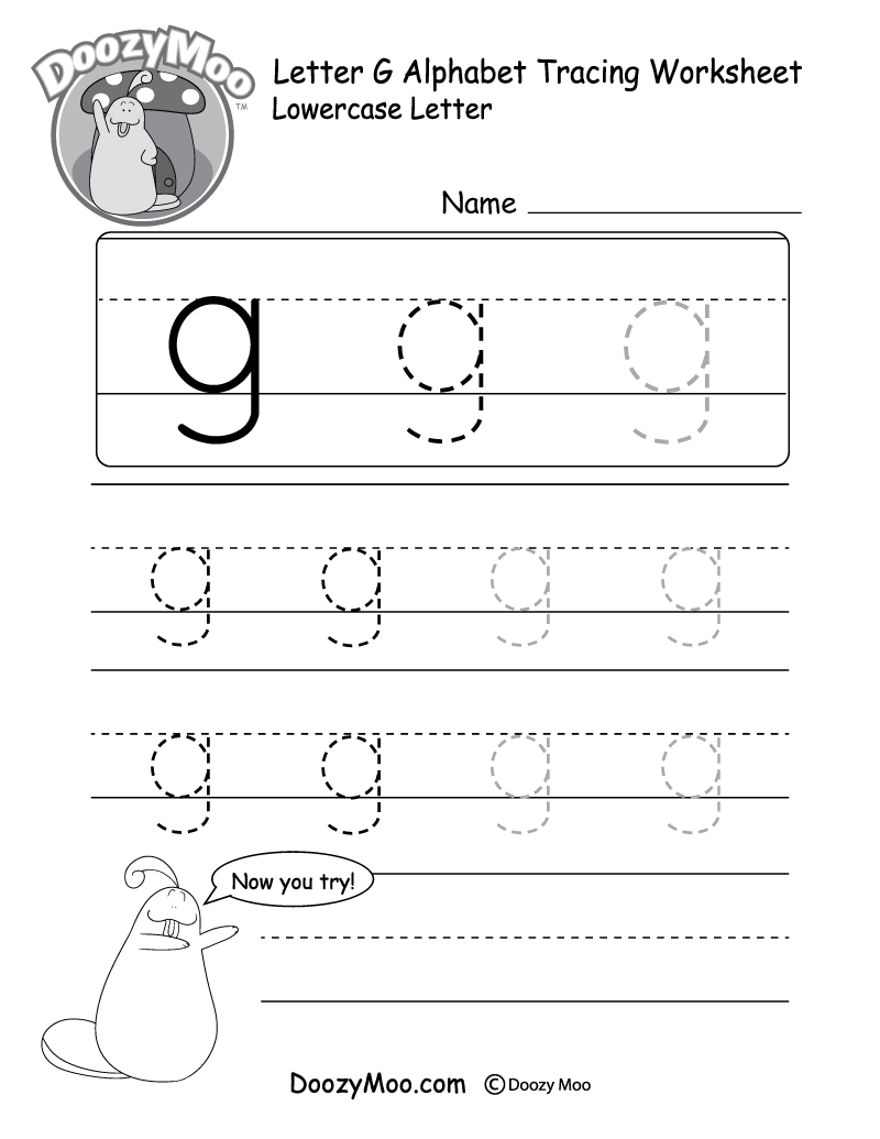 "Lowercase Letter ""f"" Tracing Worksheet - Doozy Moo pertaining to Letter F Worksheets For Preschool Pdf"