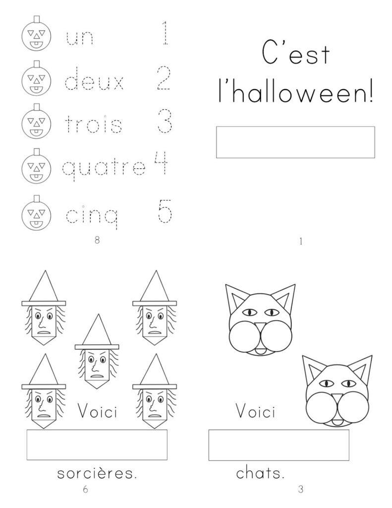 Madame Belle Feuille | French Activities, Halloween