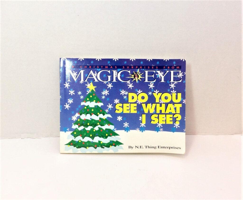Magic Eye Do You See What I See Christmas Magic   Etsy