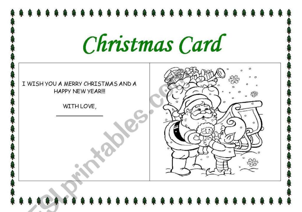 Making A Christmas Card 3   Esl Worksheetrhuanna