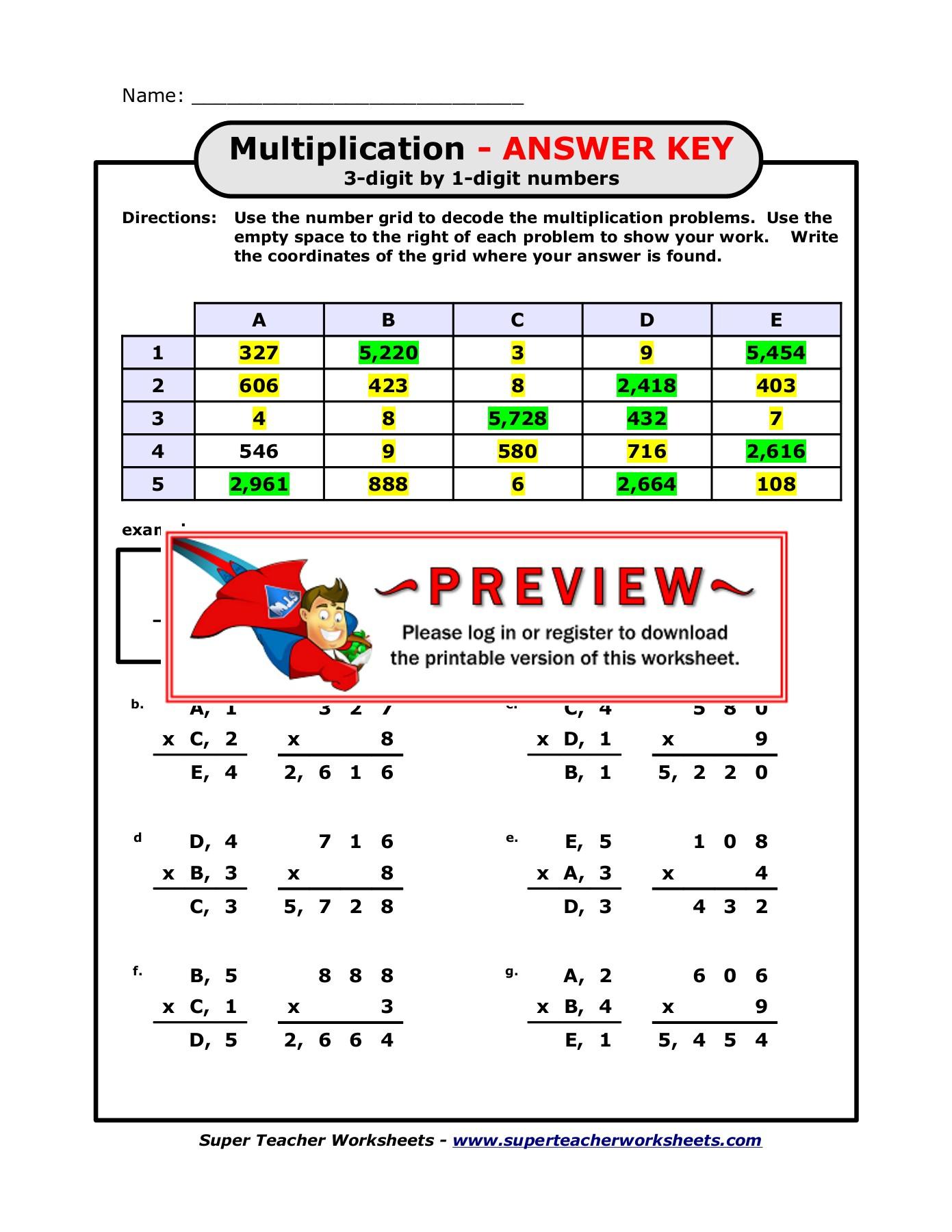Math Math Math Games Fun Sight Word Worksheets Super Teacher