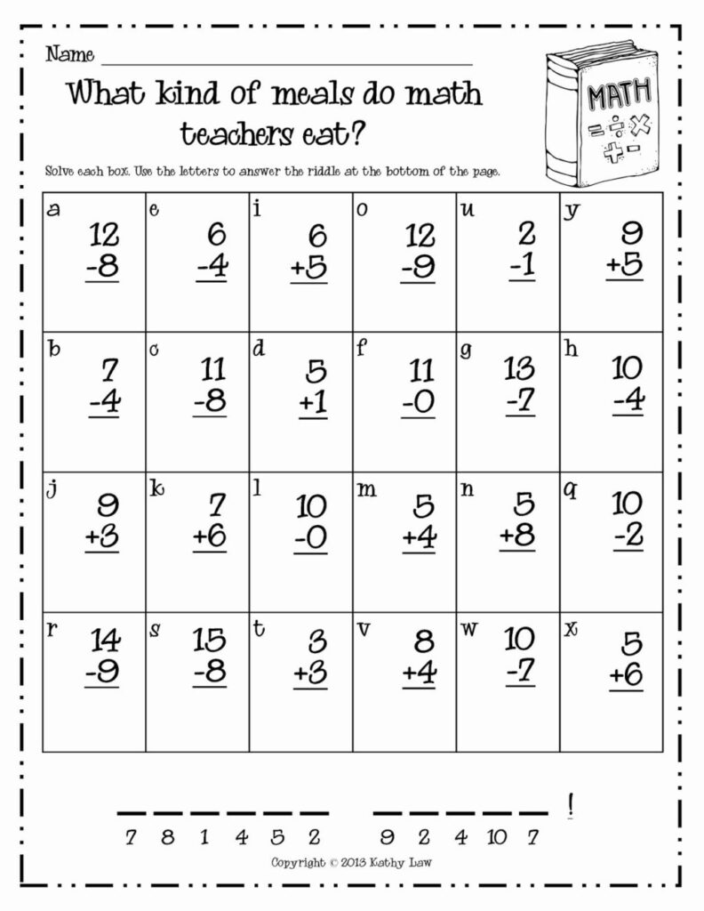 Math Worksheet ~ 1St Grade Phonics Worksheets Inspirational