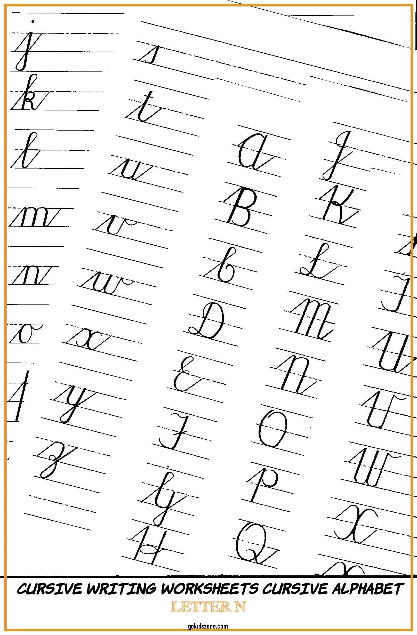 Math Worksheet : 46 Remarkable Cursive Writing Practice