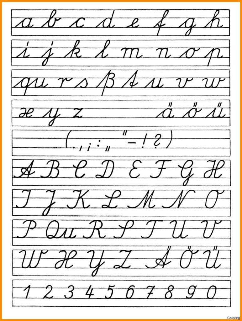 Math Worksheet : Coloring Book Free Printable Cursives Chart