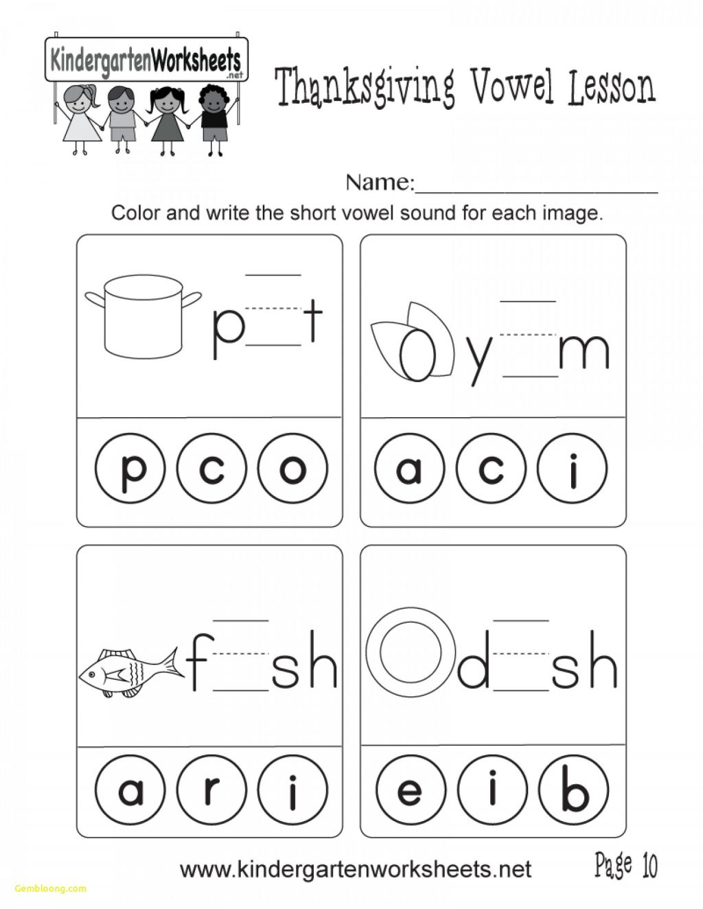 Math Worksheet ~ Easy Colornumber Halloween Math